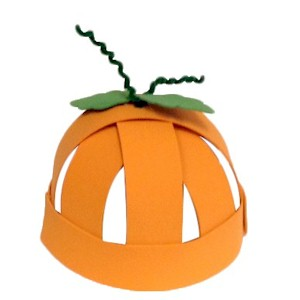 Halloween Pumpkin Hat Craft