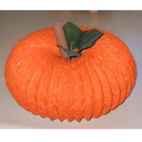 Image of Artificial Pumpkin Centerpiece