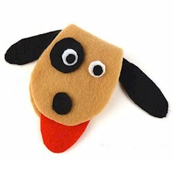 Image of Felt Puppy Sewing Kit