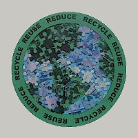 Image of Earth Day Paper Plate