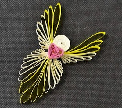 Quilled Angel