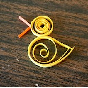 Quilled Duck