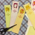 Back To School Reading List Bookmark