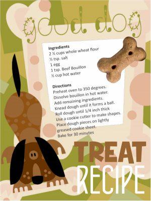 Recipe Card for Dog Treats