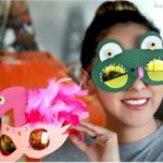 Recycled Sun Glasses Foam Masks