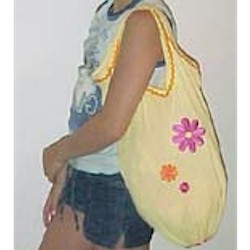 Image of Recycled Tank Top Beach Bag