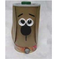 Image of Decorated Stuffed Animal Box