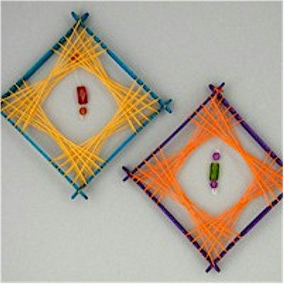 Retro String Art Decorations
