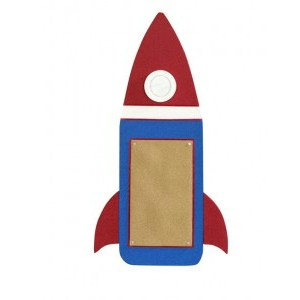 Image of How To Make A Rocket Bulletin Board