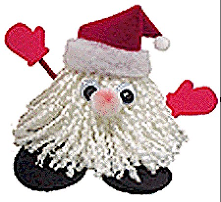 Image of Santa Yarn Bug