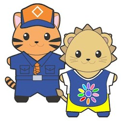 Printable Scout Buddies Paper Dolls