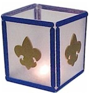 boy scout lantern