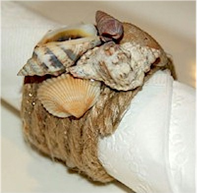 DIY napkin ring