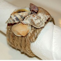 Seashell Napkin Rings