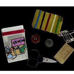 Tic Tac Sewing Kit