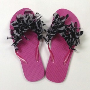 Image of Fun Summer Footwear For The Kids To Make
