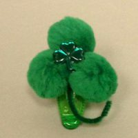 Image of St. Paddys Dish Towel Hair Accessories