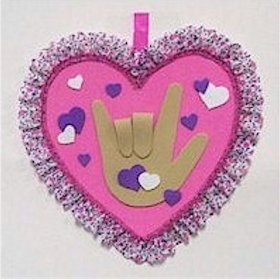 Image of Sign Language I Heart You