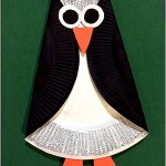 Simple Paper Plate Penguin