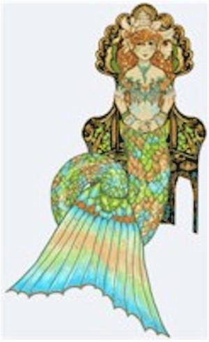 Seated Mermaid
