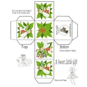 Make A Mini Christmas Gift Box
