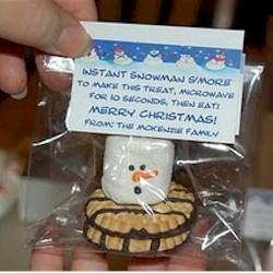 Smores Snowman