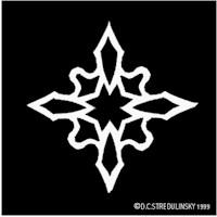 Image of Captain America Snowflake Pattern