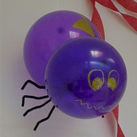 Spinning Balloon Spider