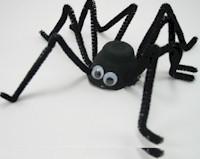 Spooky Black Spider