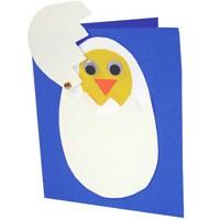 Spring Chicken Greeting Card