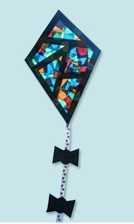 Stained Glass Window Kite