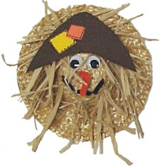 Image of Straw Hat Scarecrow