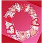 Image of String Art Valentine Wreath