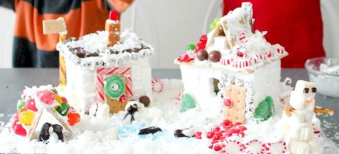 Sugar Cube Houses