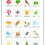 Summer Nature Scavenger Hunt