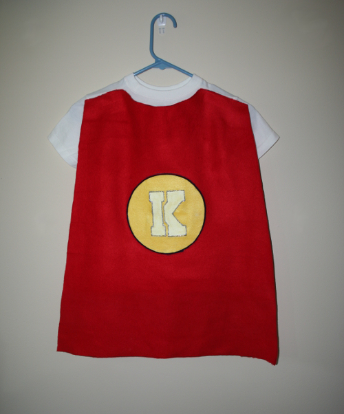 No Sew Superhero Cape