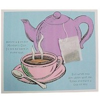 Image of Mothers Day Bath Salt Card And Recipe