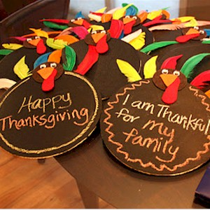 Thanksgiving Chalkboard Craft