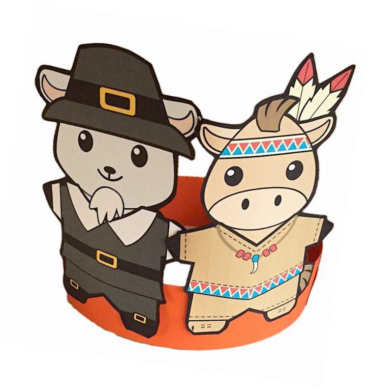 Buddies Thanksgiving Hat