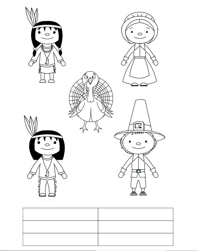 thanksgiving-finger-puppet-printable-bw