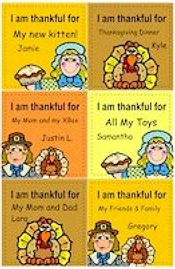 Thanksgiving Paper Quilt
