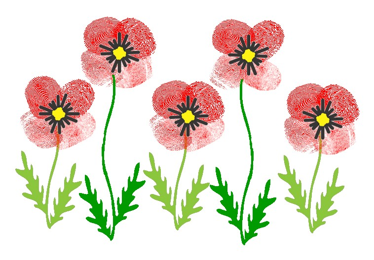 Thumbprint Poppies