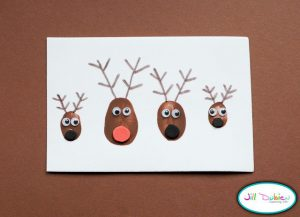 Image of Printable Reindeer Antlers