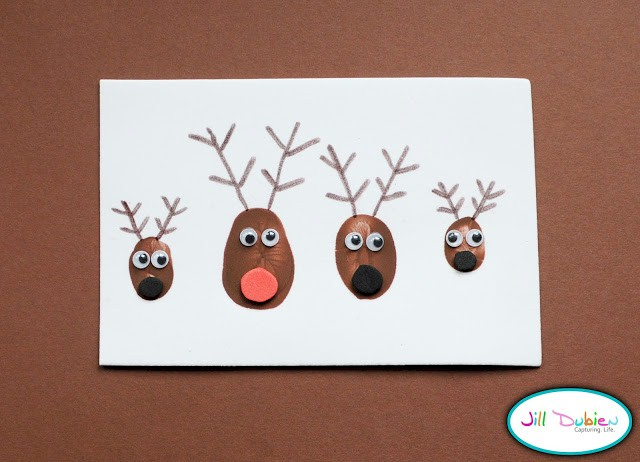 Image of Thumbprint Reindeer