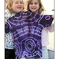 Image of Personalized Tie Dye Tee Shirt