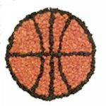 Tissue Paper Basketball Craft