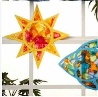 Image of Tissue Paper Star