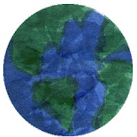 Image of Tissue Paper Earth