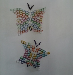Image of Cardboard Tube Butterflies