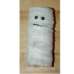 Cardboard Tube Mummy